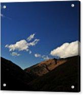 Mountain In The Good Light Acrylic Print