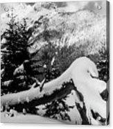 Mountain Snow 2 Acrylic Print