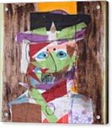 Mr Leopold Bloom Acrylic Print