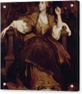 Mrs. Siddons As The Tragic Muse Acrylic Print