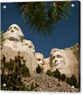 Mt Rushmore II Acrylic Print