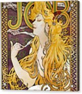 Mucha: Cigarette Papers Acrylic Print