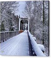 Munger Trail Bridge Acrylic Print