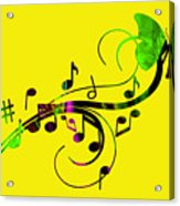 Music Flows Collection Acrylic Print