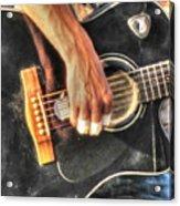 Musikant Acrylic Print