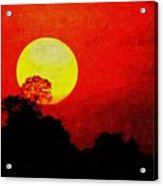 Mystic Sunset H A Acrylic Print