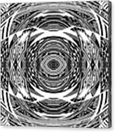 Mystical Eye - Abstract Black And White Graphic Drawing Acrylic Print