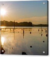 Mystical Sunrise On The Lake Acrylic Print
