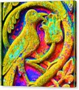 Mythical Bird. Acrylic Print