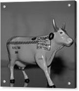 N Y C Taxi Cow Acrylic Print