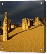 Nambung Desert Australia 1 Acrylic Print