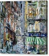 Naples Kiosk Acrylic Print