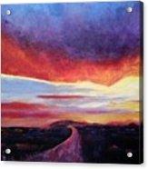 Narrow Road To Life Acrylic Print