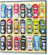 Nascar Collection Acrylic Print