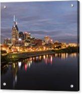 Nashville Tennessee Skyline Sunrise  Acrylic Print