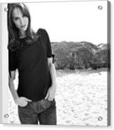 Natalie Portman Acrylic Print