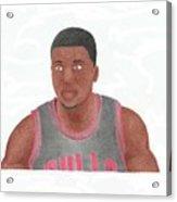 Nate Robinson Acrylic Print