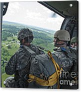 National Guard Special Forces Await Acrylic Print