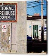 National Warehouse Corp Acrylic Print
