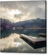 Nature Views Near Chimney Rock And Lake Lure Acrylic Print