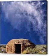 Navajo Hogan Acrylic Print