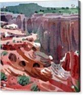 Navajo Spirit Acrylic Print