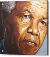 Nelson Mandela Acrylic Print