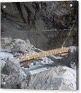 Nepal Bridge Acrylic Print