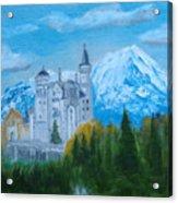 Neuschwanstein Castle In Bavaria Acrylic Print