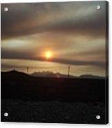 Nevada Sunset Acrylic Print