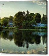 New England Scenery Acrylic Print
