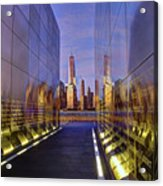 New Jersey Empty Sky 9-11 Memorial Acrylic Print