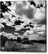 New Mexico Clouds Acrylic Print