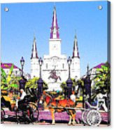 New Orleans Acrylic Print