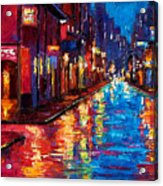 New Orleans Magic Acrylic Print