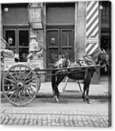 New Orleans: Milk Cart Acrylic Print
