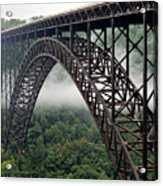 New River Gorge Bridge West Virginia Acrylic Print