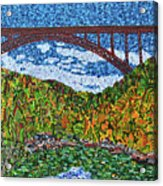 New River Gorge Acrylic Print
