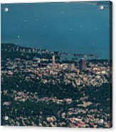 New Rochelle Real Estate Aerial Photo Acrylic Print