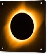 Total Eclipse Acrylic Print