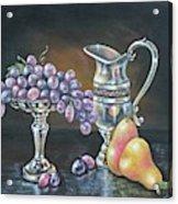 Fruit N Silver Acrylic Print