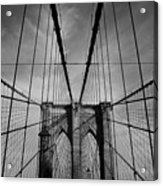 New York City - Brooklyn Bridge Acrylic Print