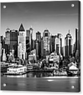 New York City Panorama Acrylic Print