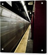 New York City Subway Acrylic Print