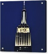 New York Empire State Building Acrylic Print
