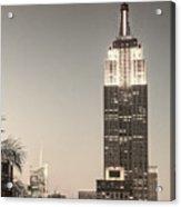 New York Empire State Building Acrylic Print
