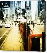 New York Times Square Acrylic Print by Dapixara Art