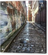 Newburyport Alley Acrylic Print
