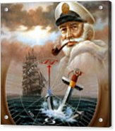 News Map Captain 2 Or Sea Captain Acrylic Print