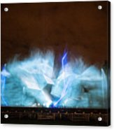 Niagara Falls Water Show Acrylic Print